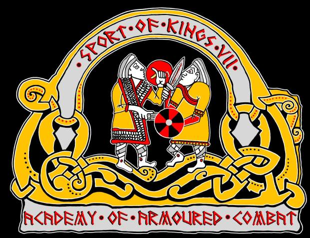 Design and artwork for Sport of Kings made by Baroness Maricka Sigrunsdotter, An Tir
